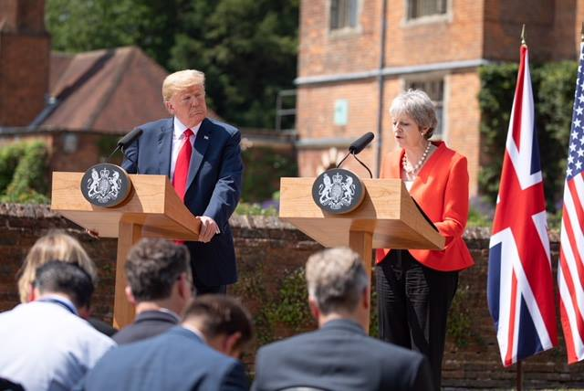 Remarks by President Trump and Prime Minister May of the United Kingdom in Joint Press Conference