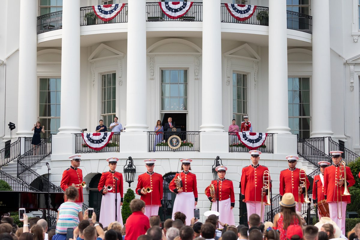 Remarks by President Trump at 4th of July Military Appreciation Event