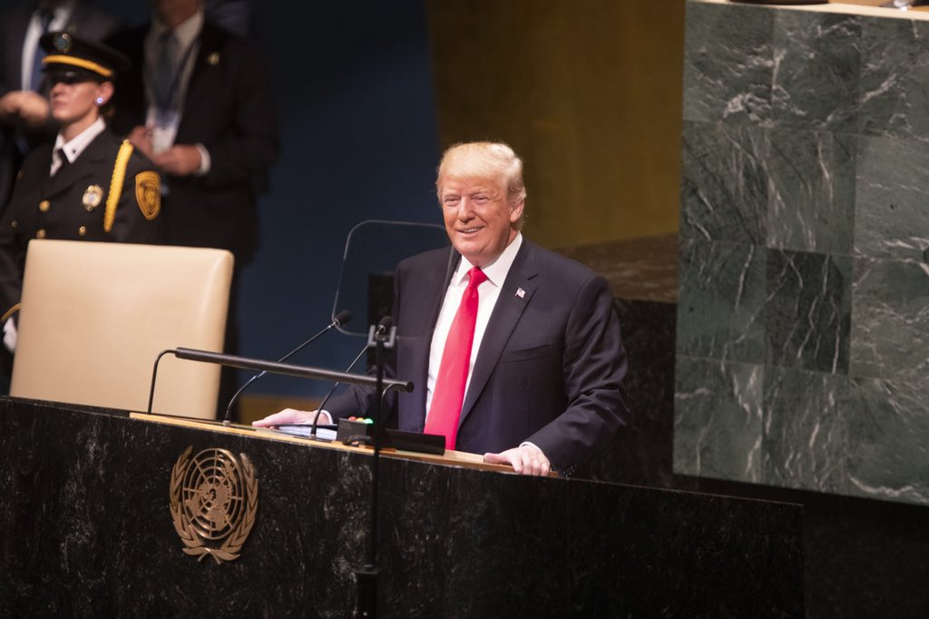 President Donald Trump's UN speech transcript